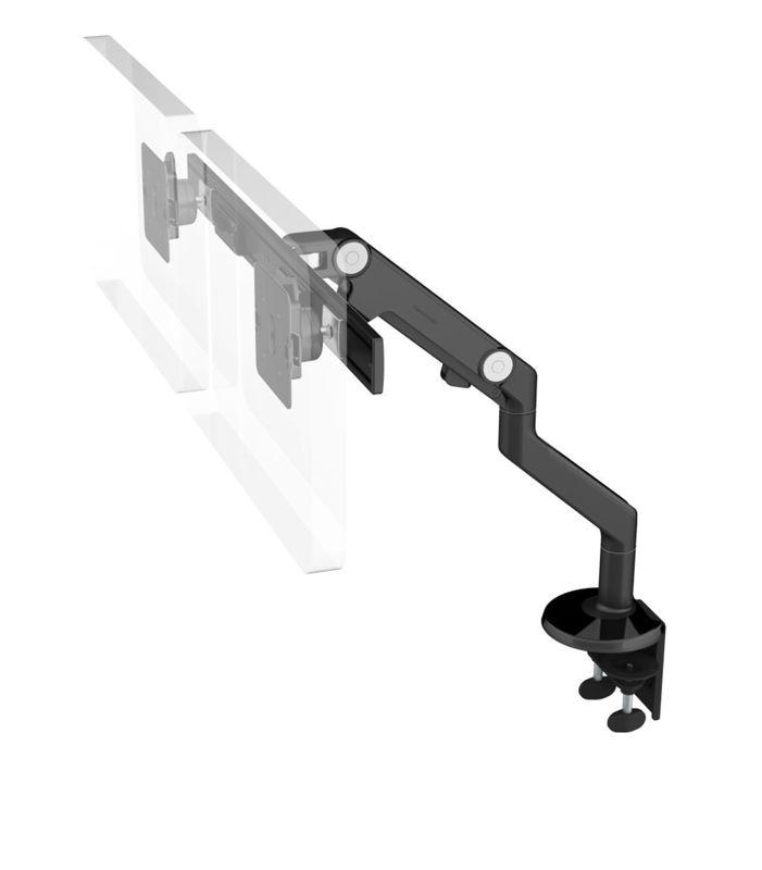 Ergolab M8 crossbar for dual black Clamp